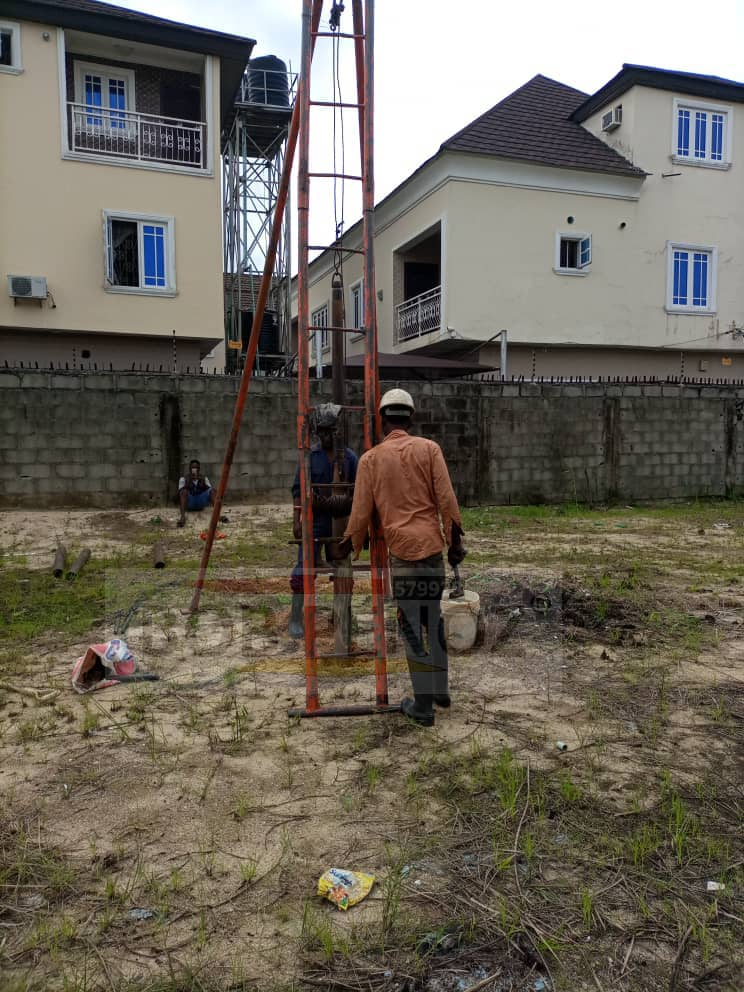 Subsoil Investigations @ Lekki Phase II, Lagos For Ziegel Nig. Ltd