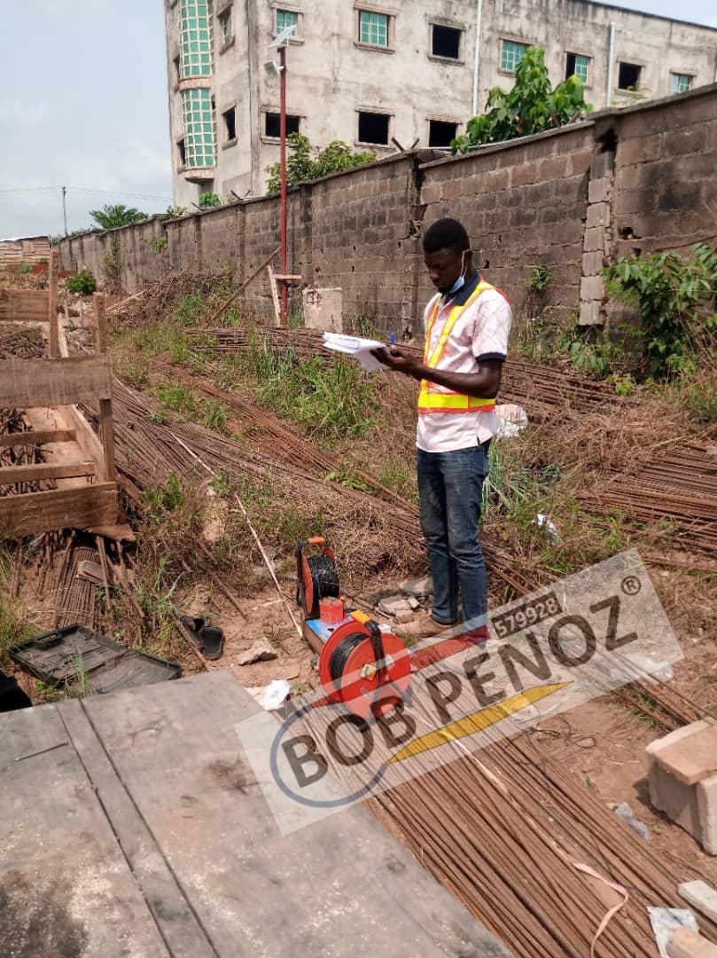 Pile Integrity Test @ Maryland Lagos