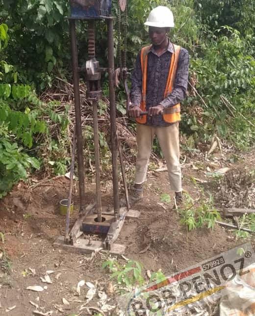 Subsoil Investigations @ Sagamu Interchange, Ogun For Kachelan Pharma-Research Ltd